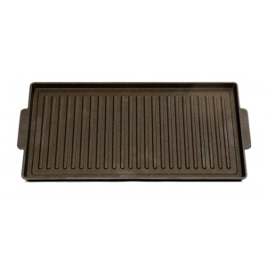 Contact grill plate